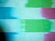 """Kaffe Fassett WOKF001 Artisan """"Ikat Stripe""""  blue     BTY $10.00"""