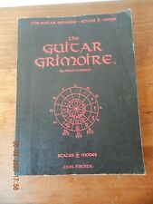 The Guitar Grimoire: Scales and Modes by Adam Kadmon (1995, Paperback)