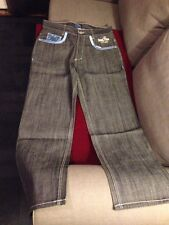 New With Tags Mens 36/34 Dark Denim Blue Jeans Urban Overstock Sale