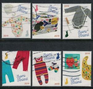 2019 Finland, Maternity box  complete set postally used.