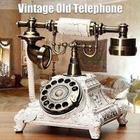 3 Tipi Vintage Antico Rétro Telefono Vecchio Moda Rotante Telefono Casa Cornetta