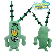 SPONGEBOB Squarepants Sheldon J Plankton 29cm Stuffed Soft Plush Kid Doll Toy