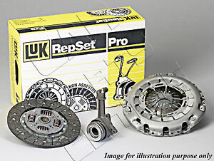 FOR FORD FIESTA FUSION 1.4 SEMI AUTOMATIC LUK CLUTCH KIT CSC CYLINDER BEARING