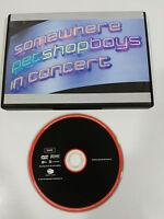 PET SHOP BOYS  SOMEWHERE IN CONCERT DVD PAL REGION 0 ALL REGIONS 90 min