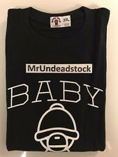 A Bathing Ape BAPE Baby Milo Black Christmas X Mas T Shirt Tee Sz XXL New 2006