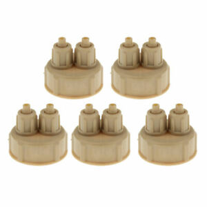 5x CO2 DIY Reactor CO2 Generator For Water Planted Fish Tank Accessory