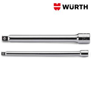Set Prolunghe 1/4 100mm e 150mm per Bussole - WÜRTH