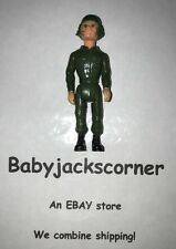 "Army Man Vintage 1985 Fisher Price Construx  3"" Action Figure"