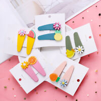 Barrette Candy Color Baby Hairgrip Snap Hair Clips Girls BB Hairpins