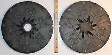 "9"" Rubber Spin Casting Mold 6 Christian Jewish Ten Commandments Tablet Pendants"