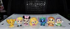Lot of 7 Disney Doorables Series 4 Buzz Lightyear Bo Peep Minnie Mouse Simba