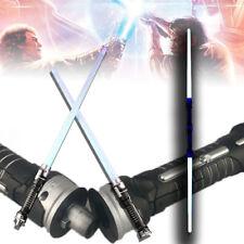 COOL Star Wars Lightsaber LED Flashing Saber Sword Toys Cosplay Weapons 2 PCS