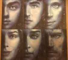 GAME OF THRONES - SEASON 7: WINTER IS HERE CHASE CARDS - FULL SET