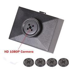 Mini HD 1080P  Portable Wireless Button Hidden Spy Audio Camera Security Cam DVR