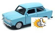 Trabant 601 DDR East Germany modellauto model car blue diecast scale 1:36 Welly