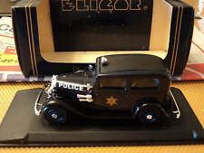 Eligor 1/43 Ford V8 1932 Tudor Police USA