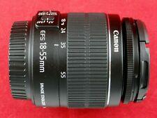 CANON EF-S 18-55mm IS II ZOOM LENS f/3.5-5.6 FITS T2 T3 T4 T5 T6 T7 EOS 60D 70D