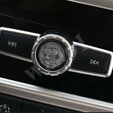 1 Ps AMG Interior Steering Wheel Badge Decal Emblems Silver Sticker For Mercedes
