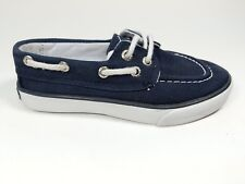 Ralph Lauren boys navy fabric boat style shoes junior 10 eu 27
