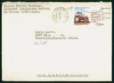 Mayfairstamps Habana 1990s to Roseville MN cover wwo1403