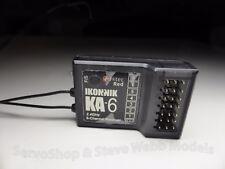 1 x Hitec Ikonnik KA-6 6 Function RX Receiver 2.4GHz RED AFHSS BEST BUY £11.99