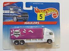 HOT WHEELS 1996  GOOD & PLENTY  HAULERS