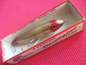 Vintage Original S9250 GFR Gold Foil Red HEDDON ZARA SPOOK Fishing Lure - NIB