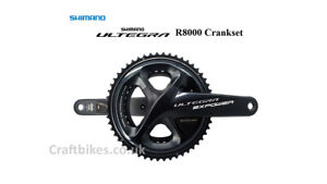 Limited stock! SHIMANO ULTEGRA R8000 Chainset Left+Right Dual Sided Power Meters