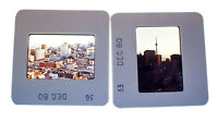 Vintage 35mm Photo Transparency Slides - Toronto, Canada 1980 | Lot of 2