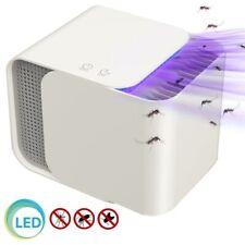 Zanzariera Elettrica Aspirante Luce UV LED Anti Zanzare Insetti con Attrattore
