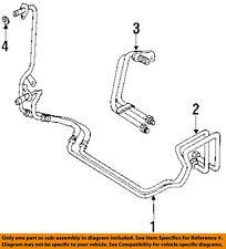AUDI OEM 94-98 Cabriolet Transmission Oil Cooler-Rear Pipe Assembly 4B0317815A