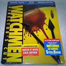 Watchmen (2009 Canada, Region Free) 1st Print Futureshop Exclusive Steelbook NEW