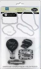 Sizzix STAMP & DIE-CUT Everyday Eclectic 4 Stamps/4 Dies 659031