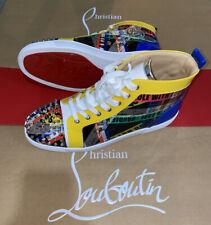 Christian Louboutin Lou Spikes Trainers Loubiballage Shoes Size 9