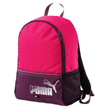248a02ff45 Puma Phase Backpack II Unisex Two Strap Rucksack Bag Pink Purple 074413 22  P1