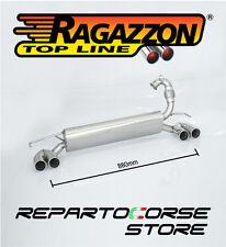 RAGAZZON POSTERIORE INOX SDOPPIATO SMART FORTWO 453 0.9 90Cv 2014 -> 58.0720.25