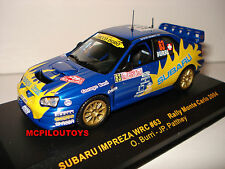 IXO RAM144 SUBARU IMPREZA WRC Nº63 MONTE CARLO 2004 au 1/43°