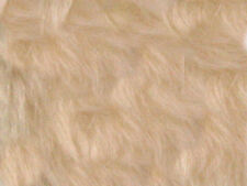 Toffee Plain Faux Fur Fabric Short Hair 150cm Wide SOLD BY THE METRE