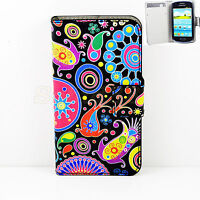 Flip Stand Wallet Protective Leather Cover Case For Samsung Galaxy S3 Mini S4 S5