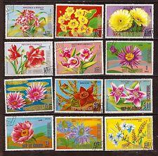 GUINEE EQUATORIALE  Les roses et differentes fleurs  H247