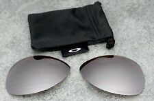 Original Oakley New Crosshair Black Iridium Polarized Lenses - Genuine Set + Bag