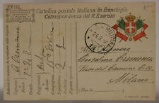 POSTA MILITARE 14 FRANCHIGIA 23.8.1917 #XP340G