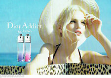 PUBLICITE ADVERTISING 086  2012  Dior  (2p)  les nouveaux parfums Addict