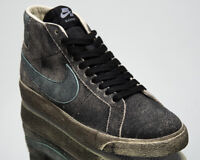 Nike SB Zoom Blazer Mid Premium Faded Black Men's Skate Lifestyle Sneakers Shoes