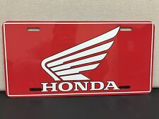 Honda Motorcycle Logo License Plate