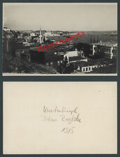Or. Photo Constantinople Dolmabahçe Orient fought Rich Istanbul Turkey 1915