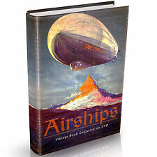 Airship Books on DVD Graf Zeppelin Dirigibles Hot Air Balloons Aerostat Vintage