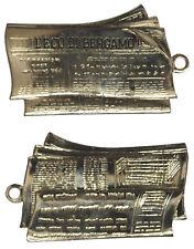 "Medaglia Medal giornale "" L' Eco di Bergam o"" #MD564"