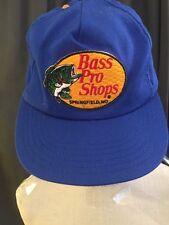 BASS PRO SHOPS SPRINGFIELD, MO VINTAGE PRE-OWNED SNAPBACK TRUCKER HAT CAP EUC
