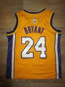 Kobe Bryant #24 LA Lakers NBA Basketball Jersey Baby Toddler 4T